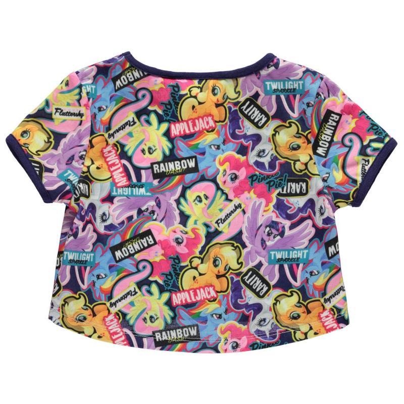 Character Short Sleeve T Shirt Infant Girls MLP 2