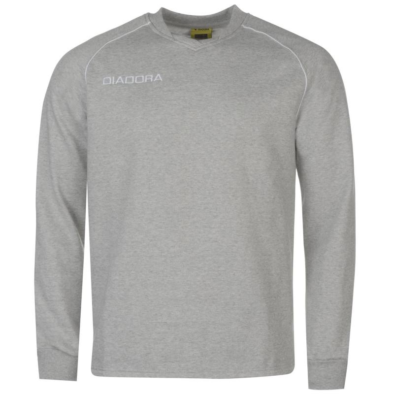 Tepláky Diadora Madrid Sweatshirt Mens Red
