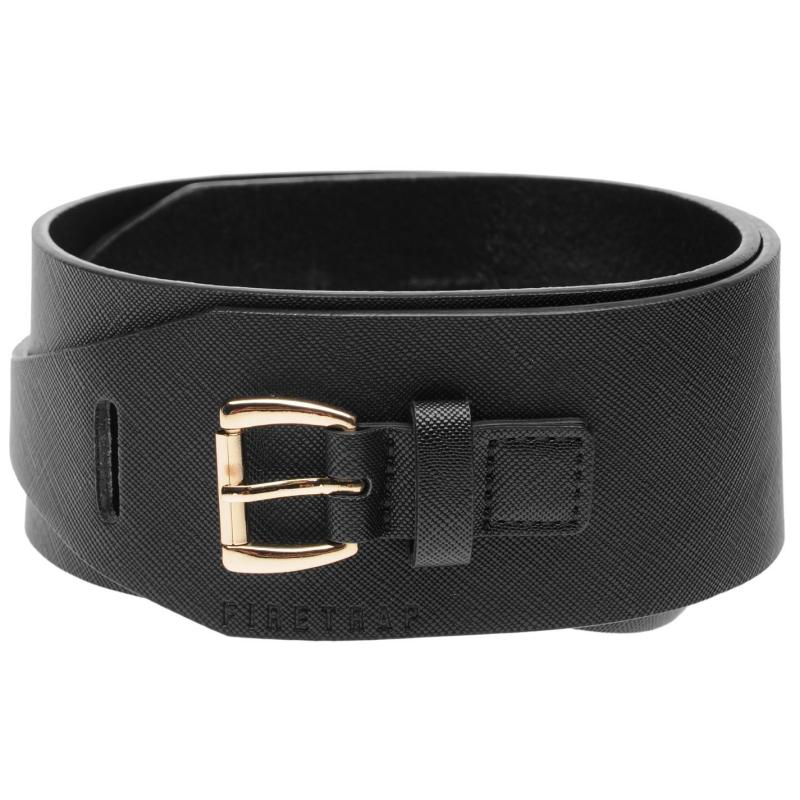 Firetrap Dual Belt Womens Black