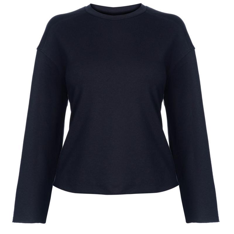 Mikina JDY Abigail Raw Sweater Navy