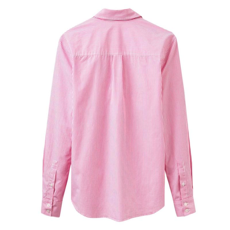 Košile Joules Lucie Stripe Shirt Pinky Stripe