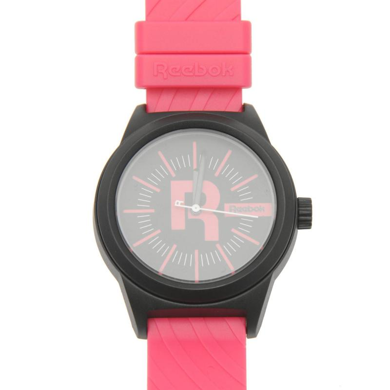 Reebok Classic Swirl Watch Ladies Black/Pink