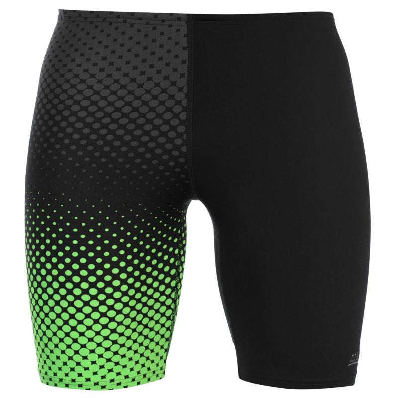 Plavky Zoggs Bridge Jammer Mens Black/Green
