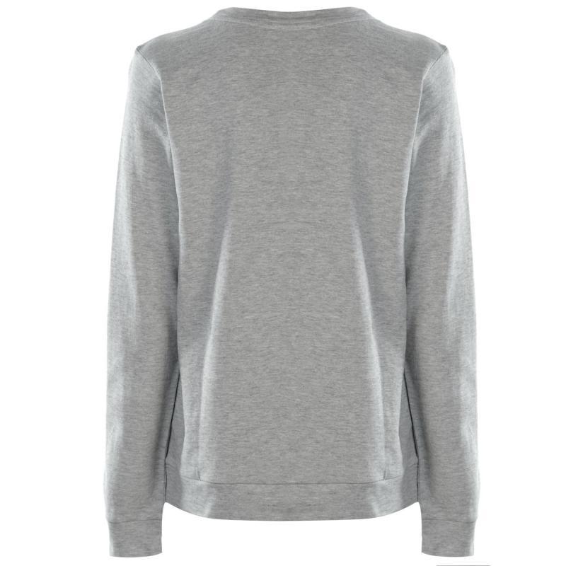 Mikina JDY Milly Love Crew Neck Sweatshirt Sparkle Blue