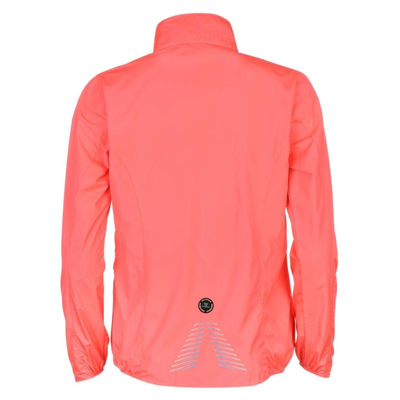 Ron Hill Stride Jacket Ladies Hot Pink/Blue