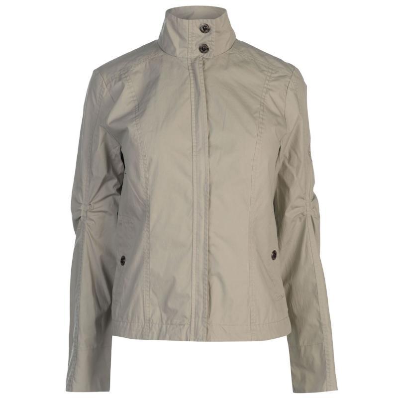 Trespass Button Jacket Ladies Cream