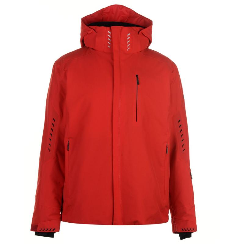 Descente Zeal Ski Jacket Mens Red