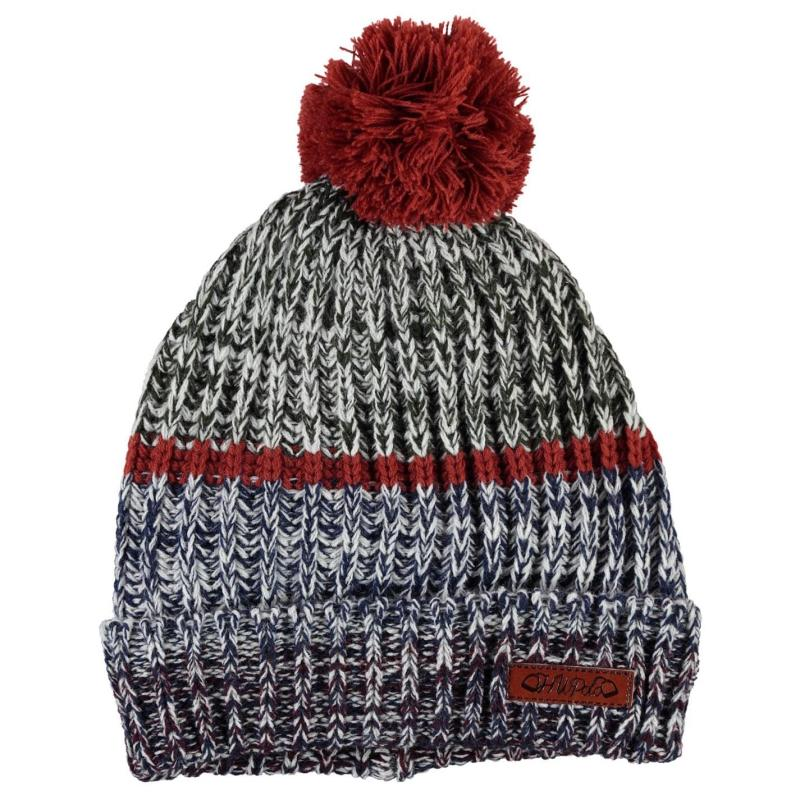 Horseware Knitted Hat and Snood Ladies Navy Melange