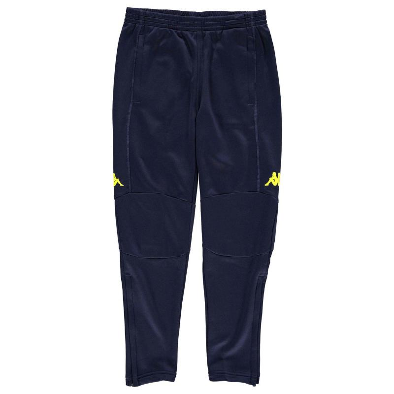 Tepláky Kappa Premium Training Pants Junior Boys Black/Neo