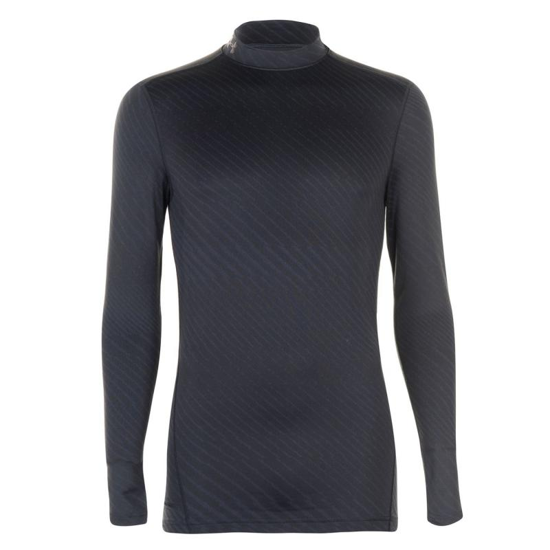 Under Armour Cold Gear Armour Mock Top Mens Black
