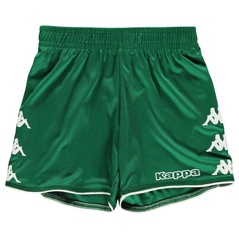 Kraťasy Kappa Santos Shorts Junior Green/White