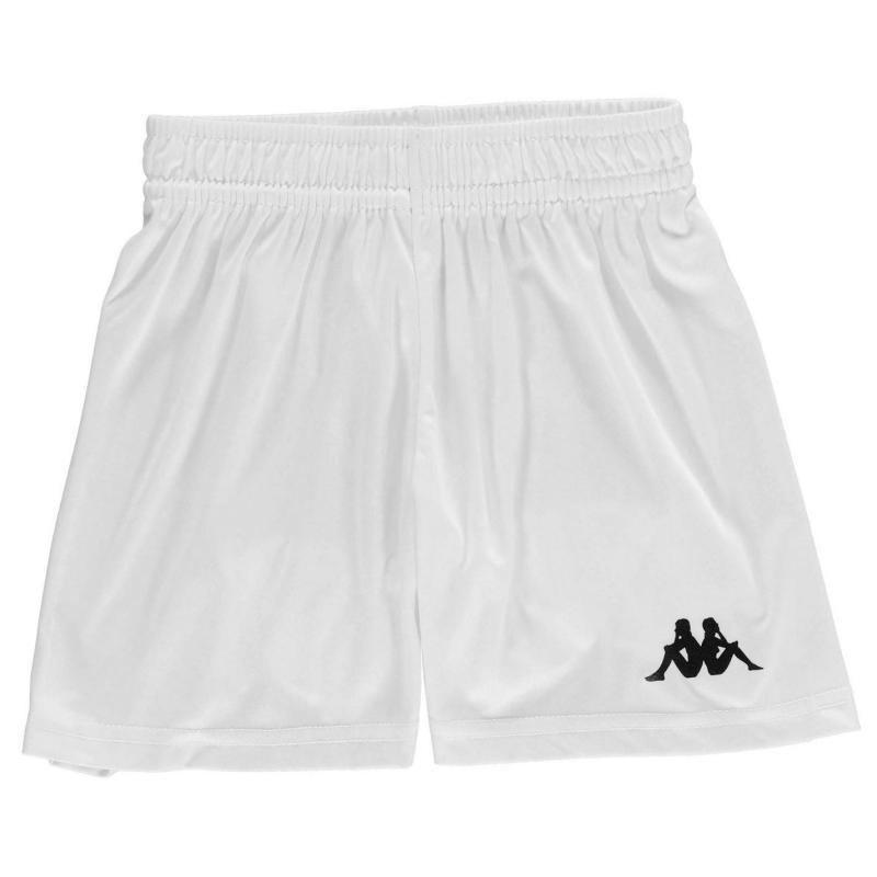 Kappa Verona Shorts Junior Boys White/Black