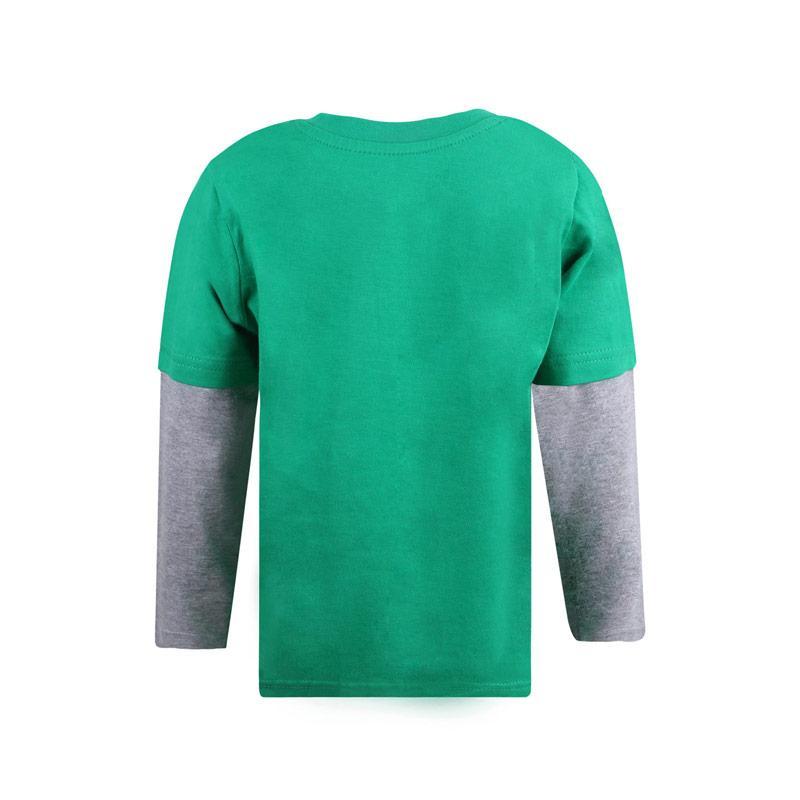 Tričko Marvel Infant Boys Hulk Pose T-Shirt Grey green