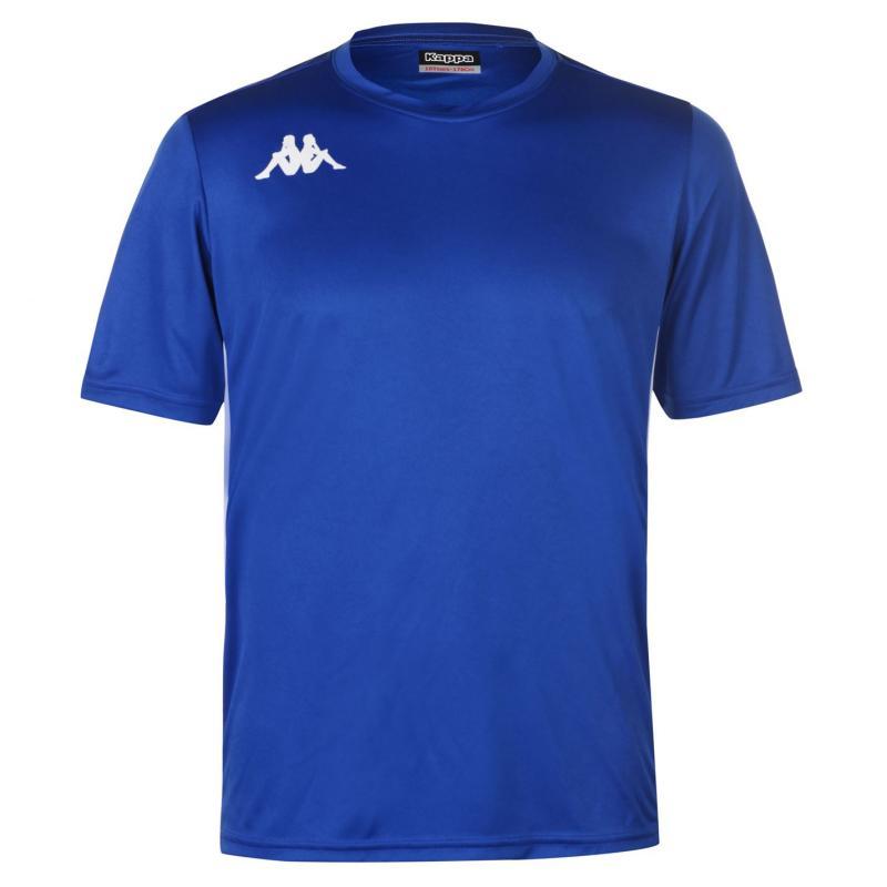 Tričko Kappa Torino Short Sleeve T Shirt Mens Yellow/Royal
