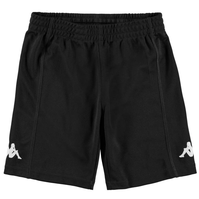 Kraťasy Kappa Train Bermuda Shorts Junior Boys Black/White