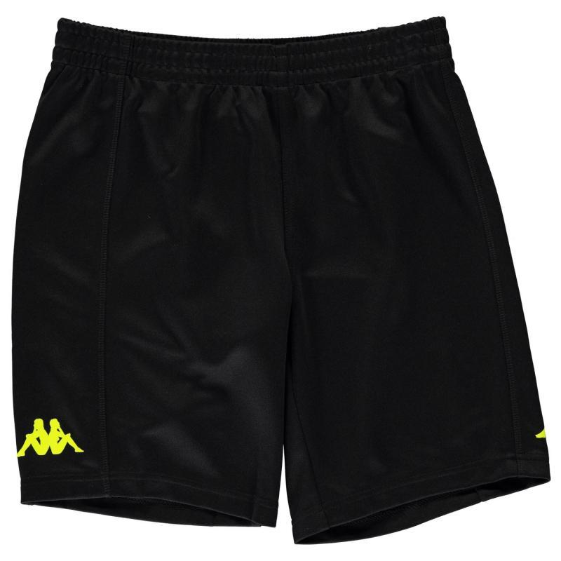 Kraťasy Kappa Train Bermuda Shorts Junior Boys Black/Neo