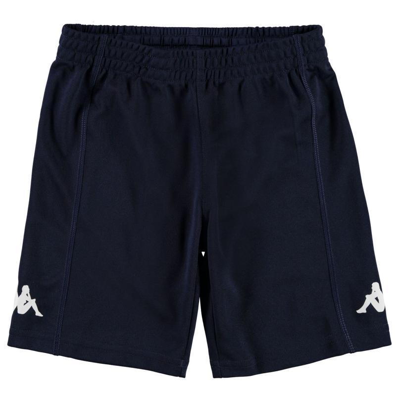 Kraťasy Kappa Train Bermuda Shorts Junior Boys Navy/White