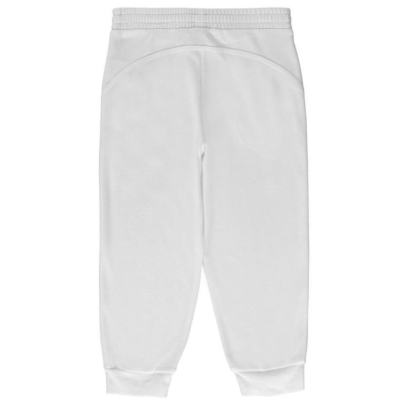 LA Gear three quarter Interlocked Pants Junior Girls White
