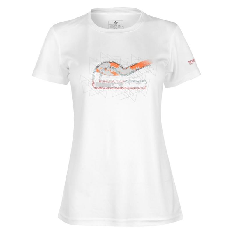 Regatta Fingal T Shirt Ladies White