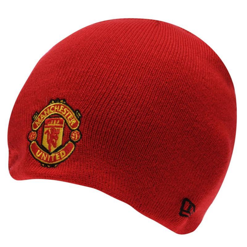 New Era Manchester United Beanie Black