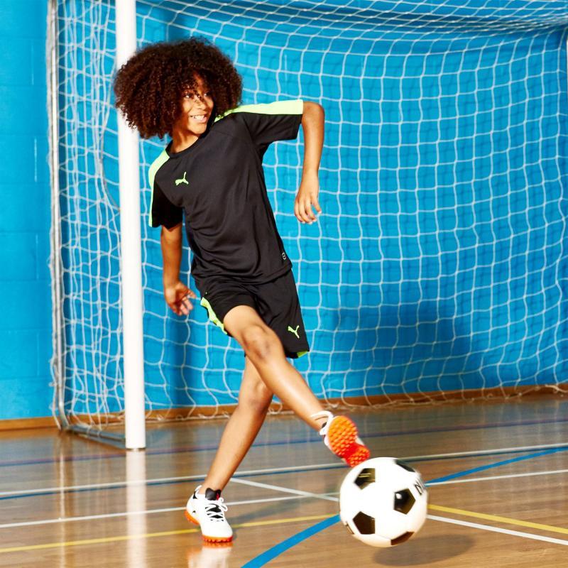 Kraťasy Puma Evo Training Football Shorts Junior Boys Black/Lemon