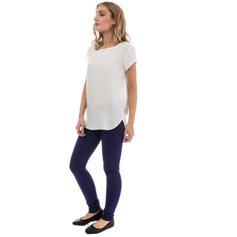 Only Womens Paris Low Jeggings Blue