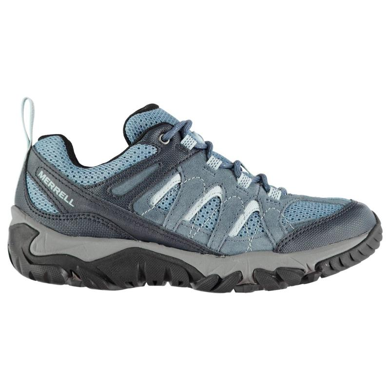 Merrell Outmost Ventilator Ladies Walking Shoes Bering Sea