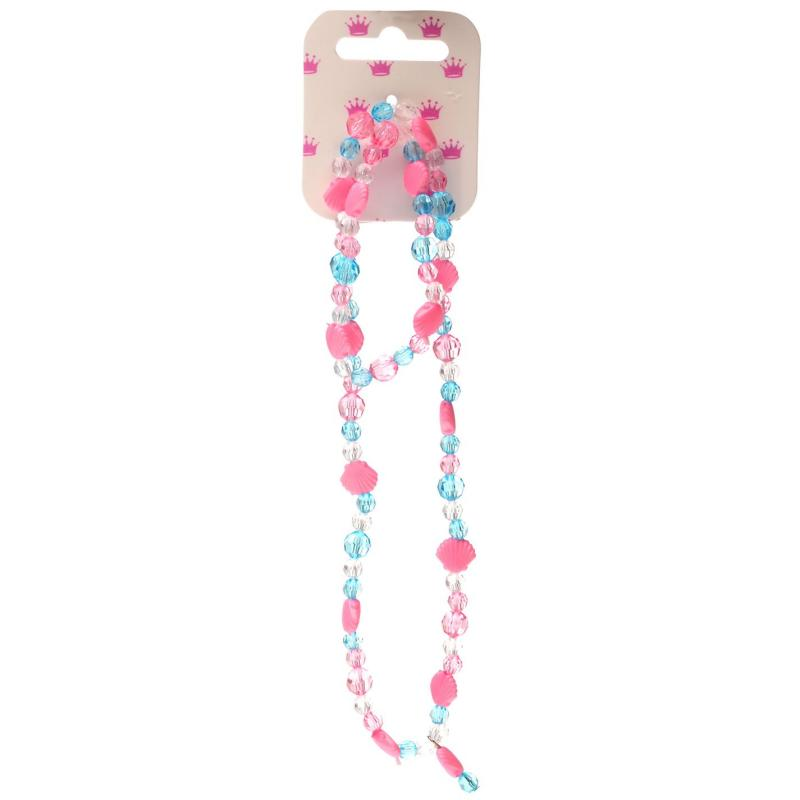 Miso Shell Necklace Girls Pink