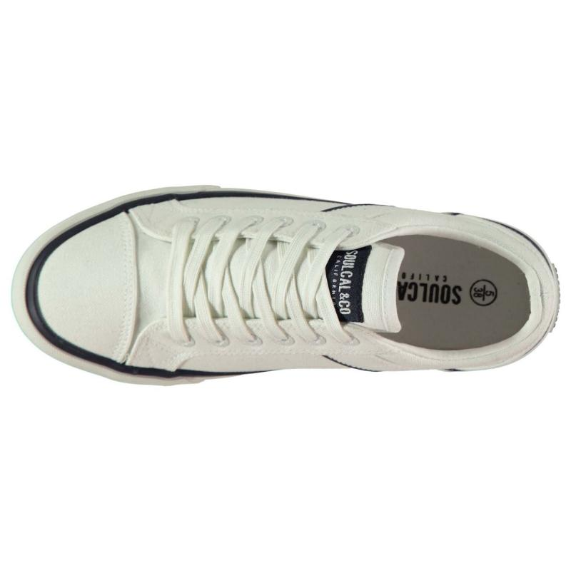Obuv SoulCal Asti Canvas Ladies Trainers Navy