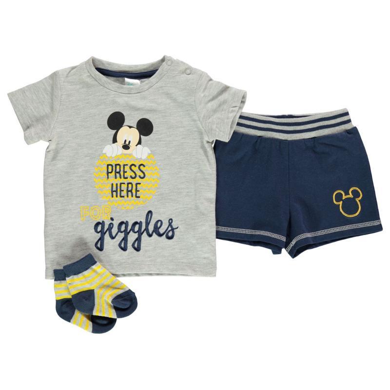 Kraťasy Disney Short Set Baby Boys Mickey Mouse