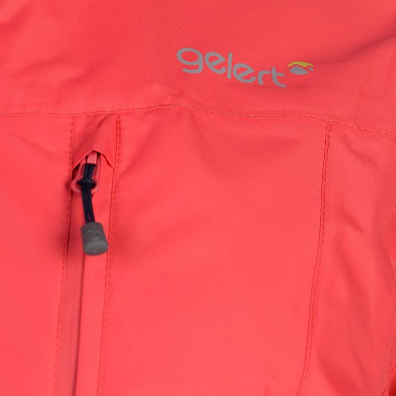 Gelert Horizon Waterproof Jacket Ladies Blk/Gelert Purp