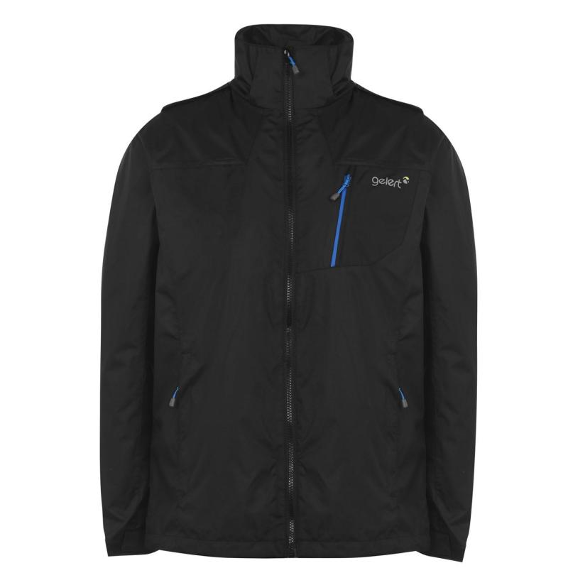 Gelert Horizon Waterproof Jacket Mens Blk/Gelert Blue