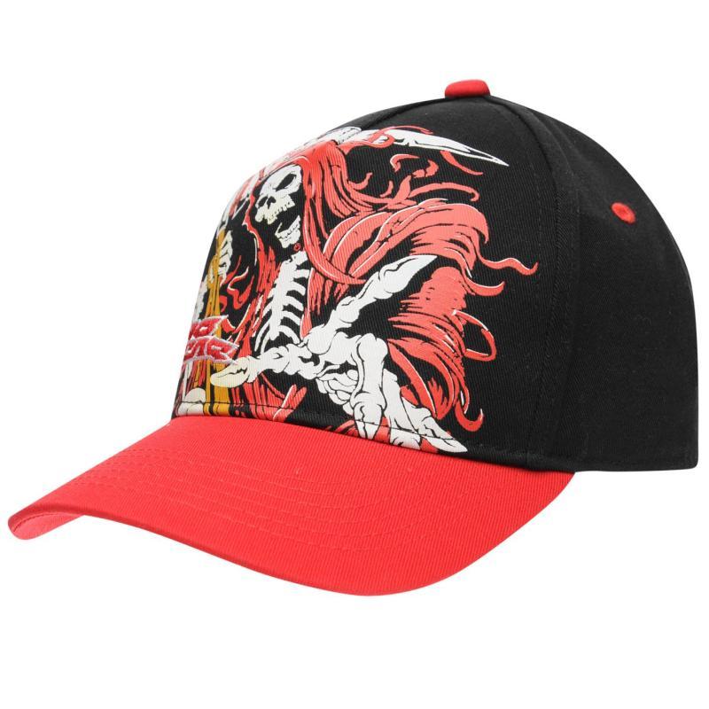 No Fear Baseball Cap Junior Black/Red