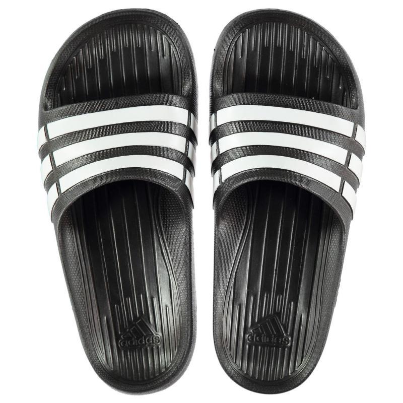 Boty adidas Duramo Junior Sliders Black/White
