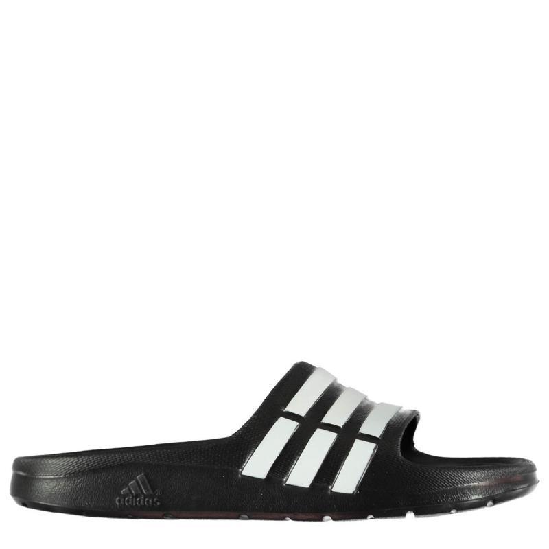 Boty adidas Duramo Slide Pool Shoes Boys Black/White