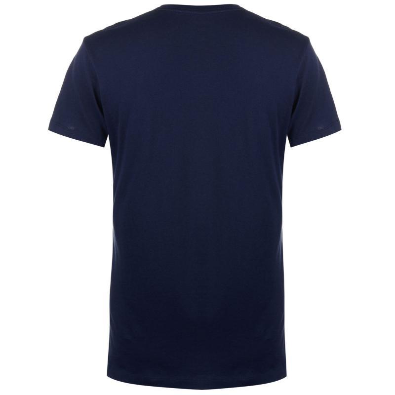 Tričko Hackett Mr Classic Logo T Shirt Navy