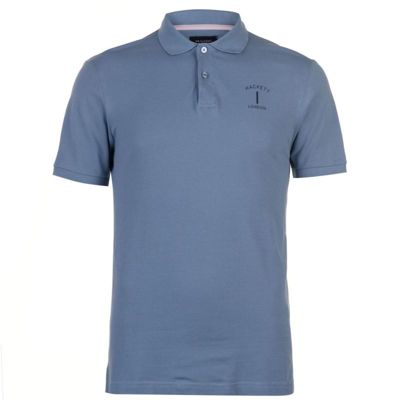 Hackett Mr Classic Polo Shirt Pink