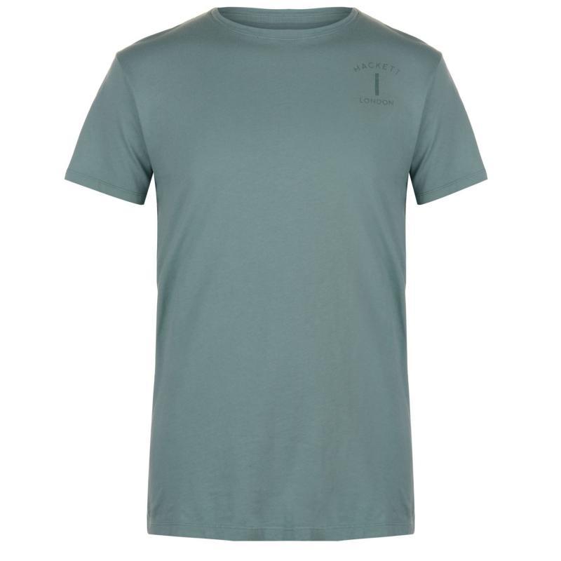 Tričko Hackett Mr Classic No 1 T Shirt Green