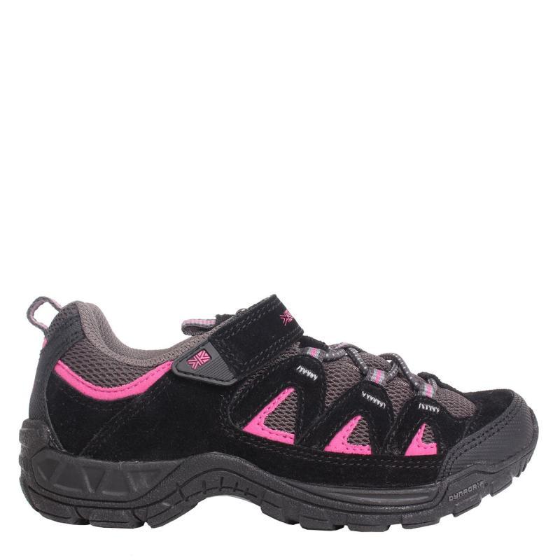 Karrimor Summit Childrens Walking Shoes Black/Pink