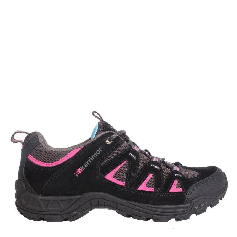 Karrimor Summit Junior Walking Shoes Black/Pink