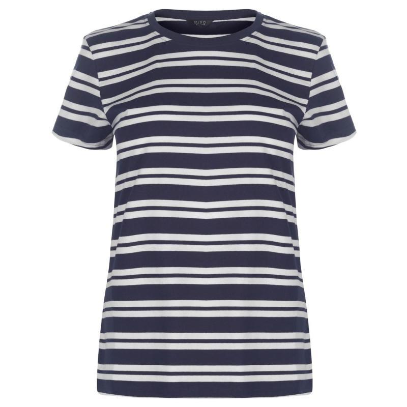 Tričko Rock and Rags Crew T Shirt Ladies Navy