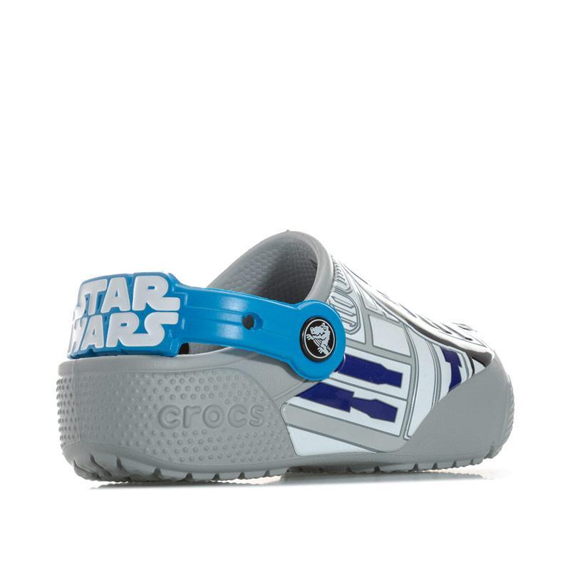 Boty Crocs Children Boys Fun Lab Lights R2 D2 Crocs Blue