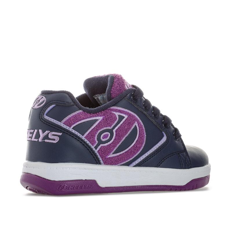 Heelys Children Girls Propel Terry Skate Shoe Navy