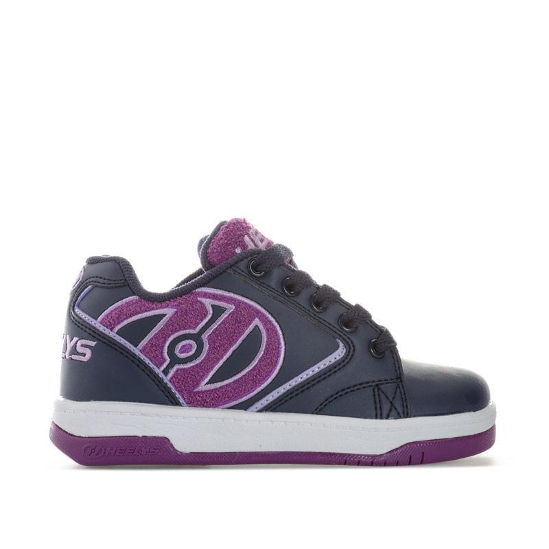 Heelys Children Girls Propel Terry Skate Shoe Navy