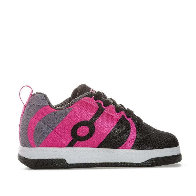 Heelys Children Girls Repel Skate Shoe black pink