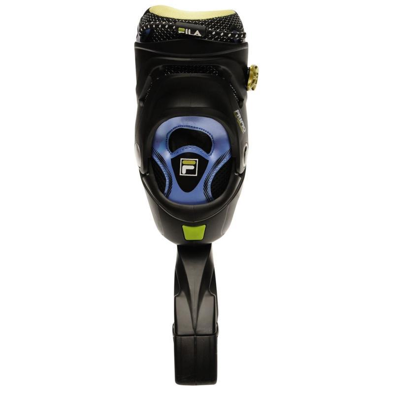 Fila Primo Air Flow Inline Skates Mens Black/Lime/Blue