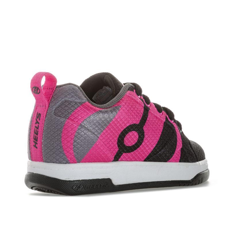 Heelys Junior Girls Repel Skate Shoe black pink