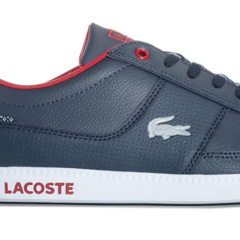 Lacoste Mens Observe Trainers Navy