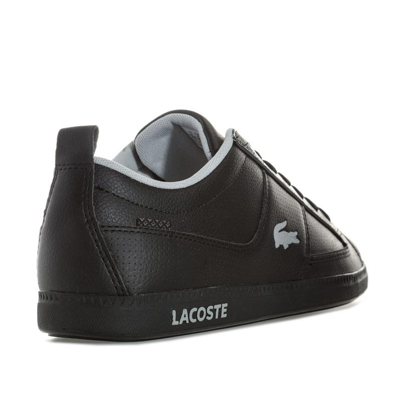 Lacoste Mens Observe Trainers Black
