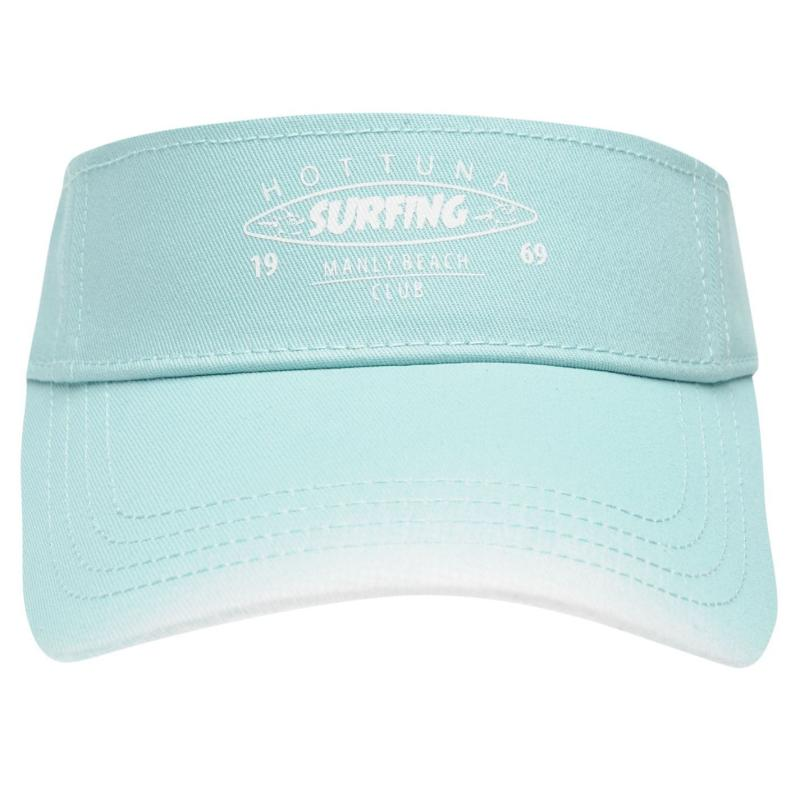 Hot Tuna Visor Ladies Aqua/White